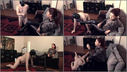 Leather Fetish - Absolute Femdom – Leg Freak Lick My Boots