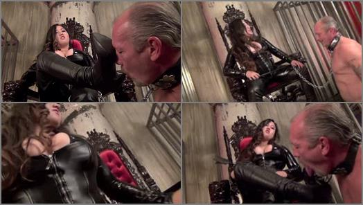 Corsets - Asian Cruelty – ENTERTAIN ME BOOT SLAVE  Starring Empress Jeun