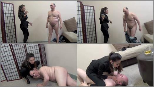 Asian Femdom Ballbusting  DESTROYING THE INCOMPETENT LANDLORD PART 2   Empress Jennifer preview