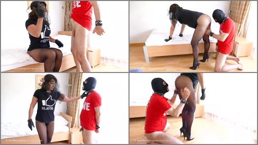 Ball Busting Chicks  Doggy Training   Black Widow preview