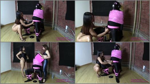 Brat Princess 2  Astro  Five Ruined Orgasms while in Sensory Deprivation preview