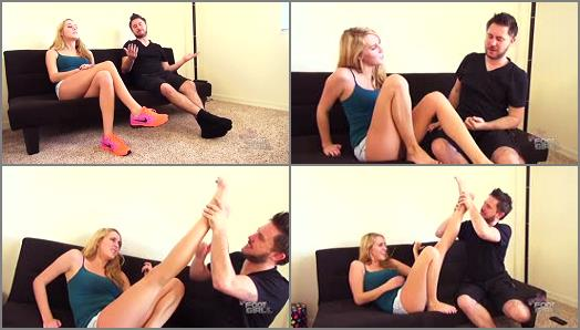 Bratty Foot Girls  Cadences Stinky Feet Exchange   Mistress Cadence preview