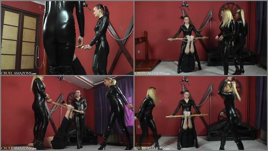 Corporal Punishment - CRUEL MISTRESSES – FULL HD Falaka with three girls  Starring Lady Anette