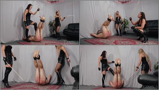 CRUEL PUNISHMENTS  Anette and Bloodymary part3   Mistress Anette and Mistress Bloodymary preview