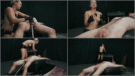 CRUEL PUNISHMENTS  SEVERE FEMDOM  Brutal shrieks from the slave part3   Mistress Anette preview