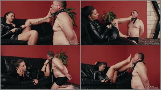 CRUEL PUNISHMENTS  SEVERE FEMDOM  Pushing her toes   Mistress Darkness preview