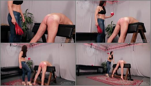 CRUEL PUNISHMENTS  SEVERE FEMDOM  Red gloves and hot wax   Mistress Anette preview