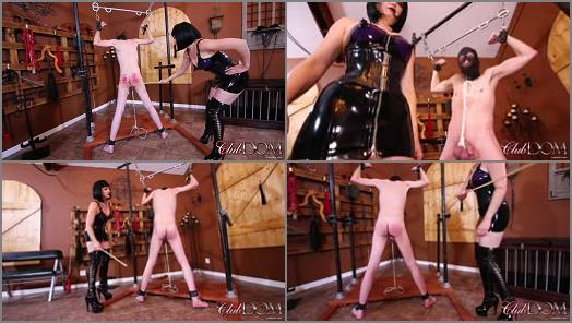 ClubDom Jean Bardot Enjoys Caning  preview