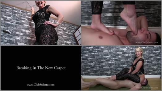 Club Stiletto FemDom  Breaking In The New Carpet   Mistress Kandy preview