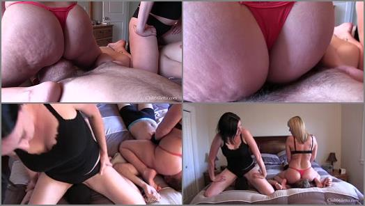 Club Stiletto FemDom  Double Smother Competition  Starring Mistresses Kandy and Airen preview