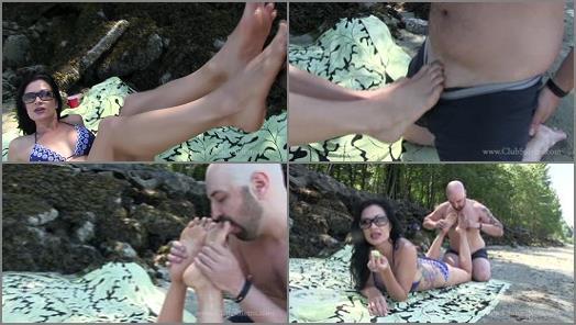 Club Stiletto FemDom  Sand Melon And Feet   Miss Jasmine preview
