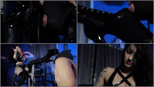 Cybill Troy FemDom AntiSex League  10Inch Boot Suck preview