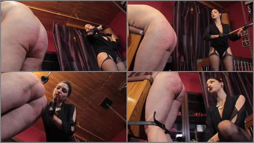 Cybill Troy FemDom AntiSex League  Cane Shredded Slave Ass preview