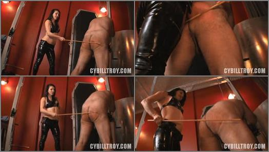 Cybill Troy FemDom AntiSex League  Caned by Mistress Alicia  Caning preview