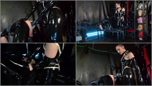 Cybill Troy FemDom AntiSex League  Rubber Cock Monster Starring Cybill Troy preview