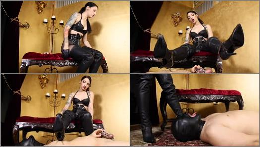 Cybill Troy FemDom AntiSex League  Spurs to the Balls preview