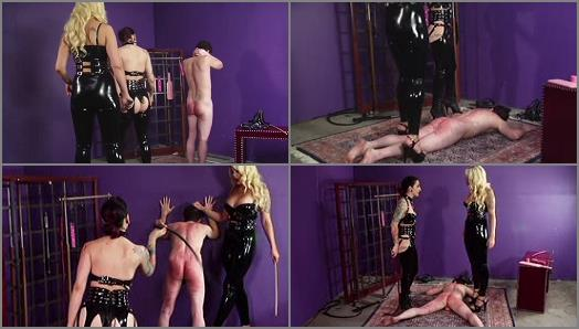 Cybill Troy FemDom AntiSex League  Torn Apart by Mistresses Whips   Bella Bathory preview