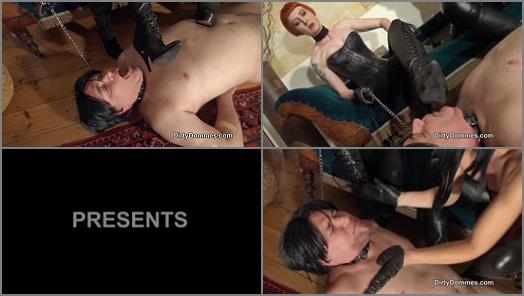 DirtyDommes  Muddy dirty boots domination   Domina Liza  preview