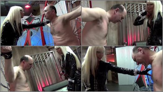 Punching - DomNation – A CRUEL BELLY BUSTING  Starring Mistress Storm