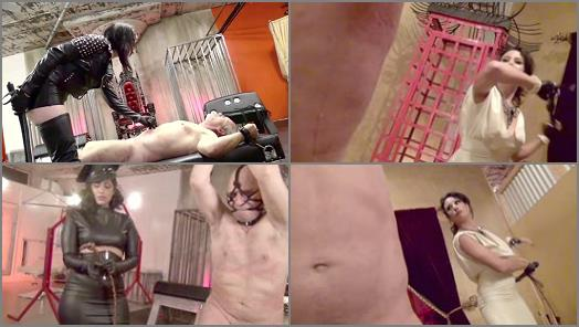 Femdom – DomNation – CRUEL AND SADISTIC WHIPPINGS #4 –  Quinn Helix, Bella Blackheart, Bossy Delilah, January Seraph and Cybill Troy