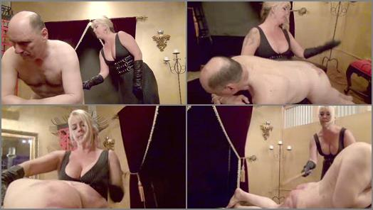 DomNation  DISCIPLINING A BRAND SPANKING NEW SLAVE Full Version Starring Miss Joclyn Stone preview
