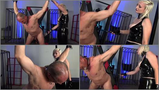 DomNation  I DELIGHT IN YOUR AGONY Starring Mistress Thorn Kelly preview