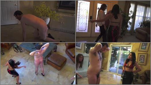 DomNation  ROYAL BEATING AT THE FETISH REALM FULL VERSION  Starring Nikki Brooks and Astro Domina preview