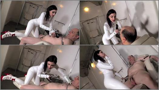 DomNation  STRIPPED AND SHAVED   Mistress Cybill Troy preview