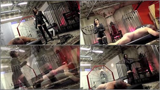 DomNation  TWO WHIPS FOR TWO ASS CHEEKS  Starring Mistress Cybill Troy preview