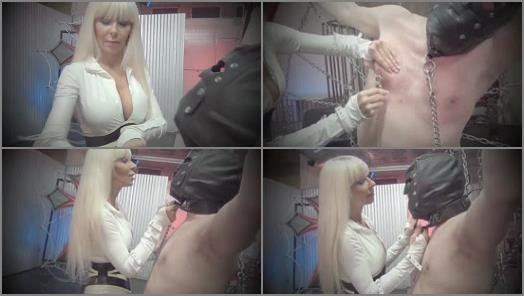 Slave Training – DomNation – YOUR NIPPLES BE DAMNED! Starring Goddess Storm