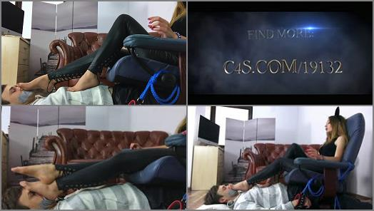 Foot Smelling - Dominant Femine – Helena And Her Footboy