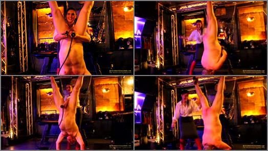 Dominatrix Annabelle  Suspension Flogging and Cattle Prods preview