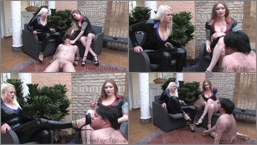 FemmeFataleFilms  Slave Sustenance  Part 2   Mistress Heather and Domina Hades preview