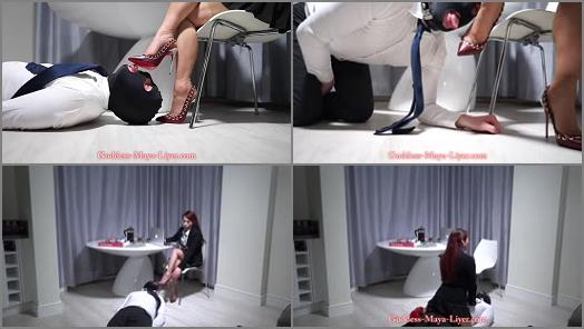 GODDESS MAYA LIYER  Succumb to My Stilettos preview
