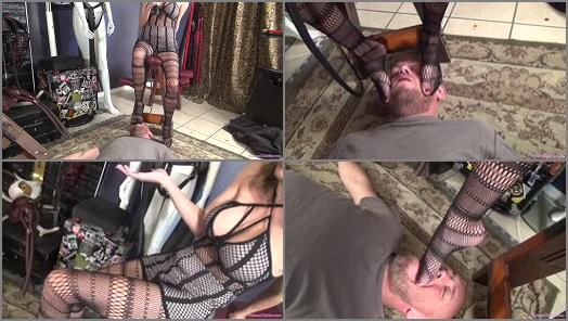 HD FEMDOM SUPERSTORE  Foot humiliation by Mistress Pristine 4  preview