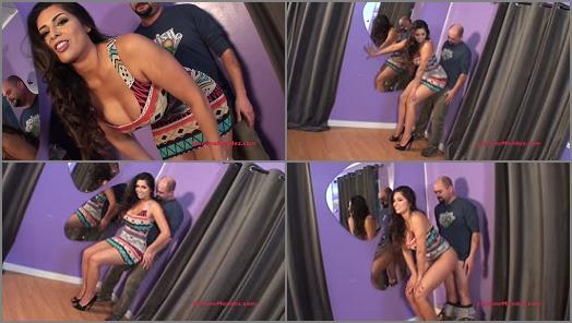 Strip Tease - Jasmine Mendez LatinAss Locas – $1000 Grinding Challenge x2