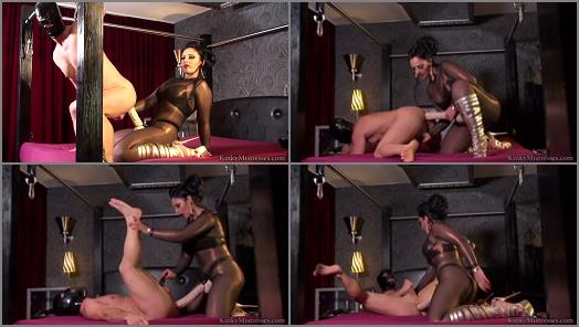 Strap-on - KinkyMistresses – A Real Strapo-on Bitch  Starring Mistress Ezada