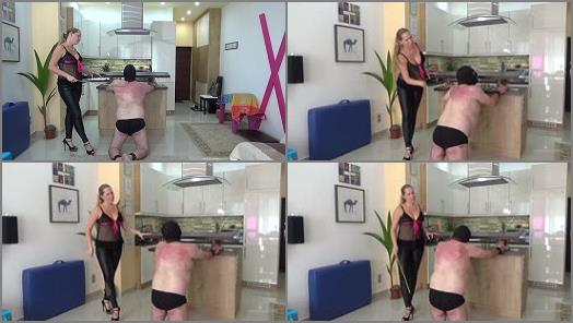 Lady Cruellas games  The beaten landlord  Cruel caning  preview