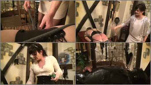 Lady Eviana The Fetishdomina  THE NEW COLORED ASS CRUEL WHIPPING EDUCATION preview