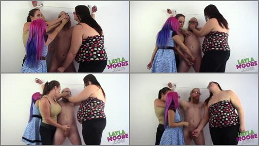 Layla Moore  Smothered by Six Hands and coerced to CUM preview