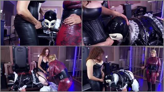 Mistress Anns 50 Shades Of Art  Sissification Part 3   Mistress Ann and Lady Mercedes preview