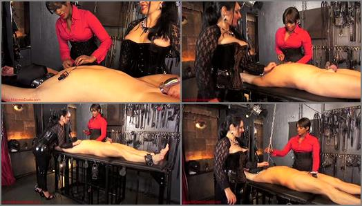 Mistress Ezada Sinn  A spiky surprise   Mistress Ava Black preview