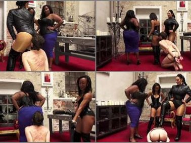 Femdom - Mistress Ezada Sinn – Ass worshiper inverview -  Madame Caramel and Gove…
