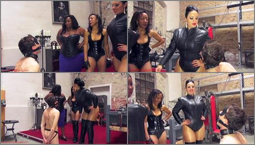 Mistress Ezada Sinn  Spit bukkake   Madame Caramel and Governess Painless preview