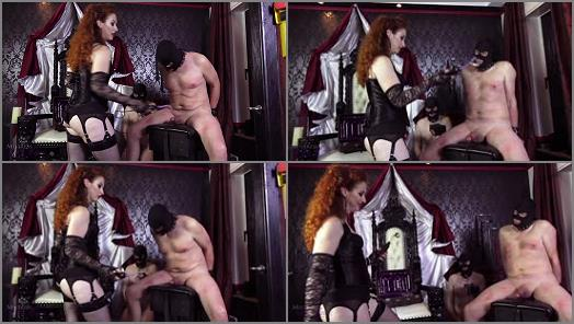 Mistress Lady Renee  Electro nipples and cock preview