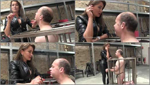 SADO LADIES Femdom Clips  Clean Your Tongue Ashtray  Starring Lady Pascal preview