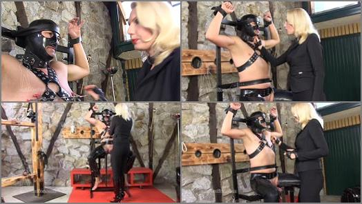 SADO LADIES Femdom Clips  Just Four Digits  Starring Mistress Akella preview