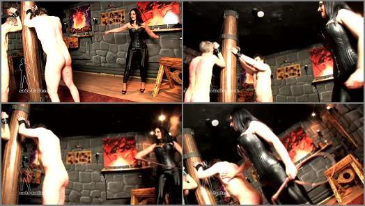 SADO LADIES Femdom Clips  Violent Whipping By Ezada   Mistress Ezada Sinn preview