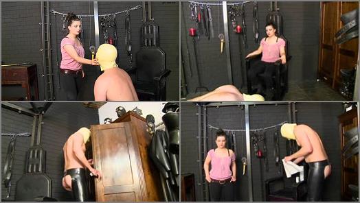 Schlagendegirls  Anna  slave casting  Part 1   Mistress Anna preview