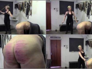 Judicial - Strafkamer – MISTRESS BATON Prison Caning II – Hard Corporal punishment